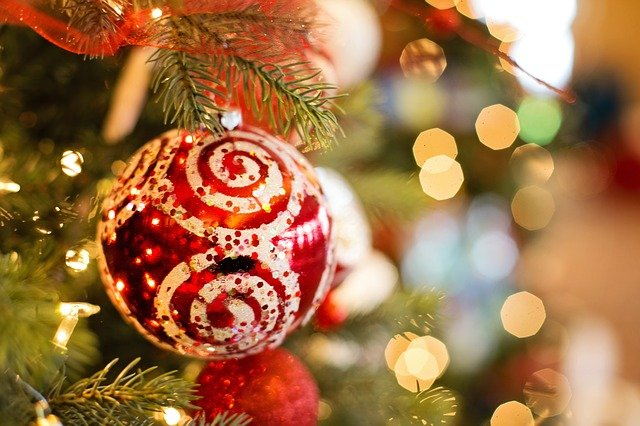 ornament indicating a new season of life